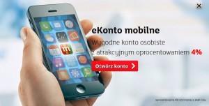 ekonto mobilne koszty